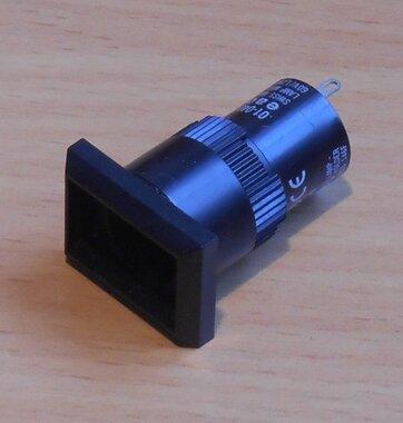 EAO 01-040.005 Signaallamp armatuur 18x24mm 6-60V zonder lens