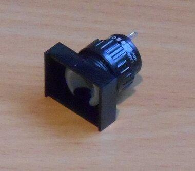 EAO 31-040.005 Signaallamp armatuur 18x24mm 6-48V zonder lens