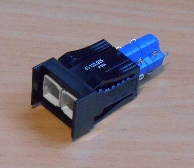 EAO 41-122.025 Drukknop frontelement zonder toetsenplaat 18x24mm