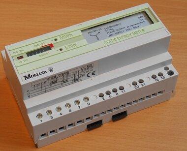 F&G Moeller REG-KWH400 static energy meter 230/400V AC x/5A 850090037
