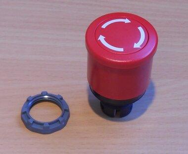 ABB Noodstopschakelaar draai ontgrendeling 40mm 1SFA611510R1001