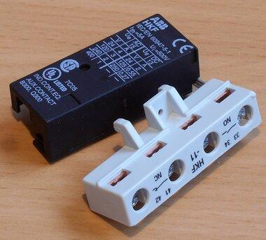 ABB frontmontage hulpcontact MS 325-HKF 11 1NO+1NC tbv ms 325 1SAM101928R0001