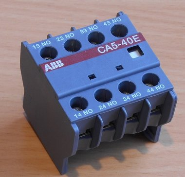 ABB hulpcontact 4NO 1SBN010040R1040 4A