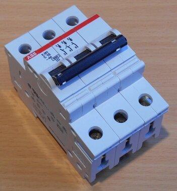 ABB Installatieautomaat 3P 10A 480VAC S263 C10
