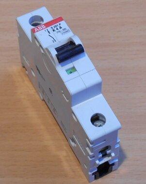 ABB S201 P 4A Installatieautomaat 4A 1P