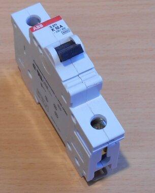 ABB S271 K10A Circuit breaker 1P 10A
