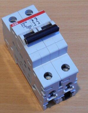 ABB S202 M C6 Installatieautomaat C6 2P