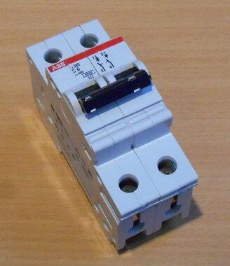 ABB S262 C6 Installatieautomaat C6 2P