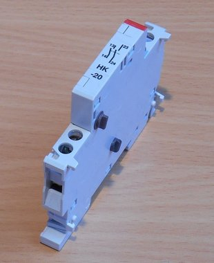 ABB MS 325 HK-20 side mount Auxiliary contact 2NO 2A serving MS 325 1SAM101901R0002