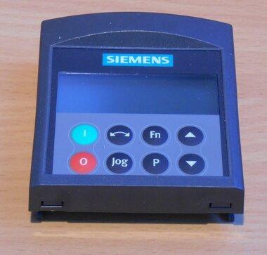 Siemens 6SE6400-0BP00-0AA0 Micromaster 4 basic operator paneel (BOP)