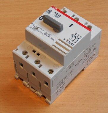 ABB Motorbeveiligingsschakelaar MS 325 0,16 690V 0,10-0,16A (gebruikt)
