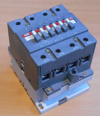 ABB A45-40 Magneetschakelaar A45 4P 220V 230V