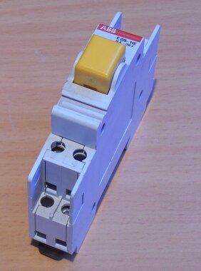 ABB E225-11E Push button yellow 1NO + 1NC 16A 250V