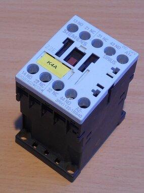 Siemens 3RH1122-1BB40 magneetschakelaar 24V DC 2NO+2NC 10A