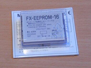 Mitsubishi FX-EEPROM-16 PLC Expansion Module geheugencassette Memory 16 kB