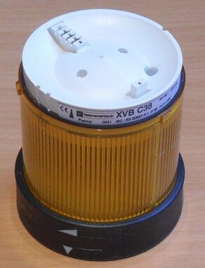Schneider Telemecanique XVB C38 250V Continu licht Geel XVBC38 084511