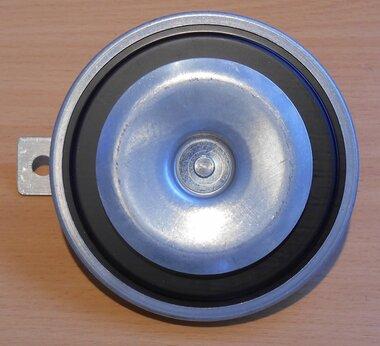 Hella Claxon 3BA 002 768-082 lage toon grijs vlakstekkeraansluiting