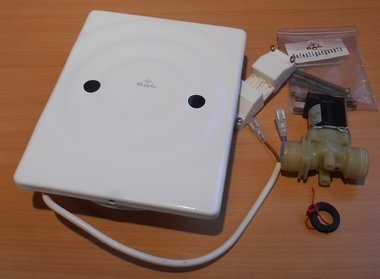 Dal 250.75.210 infrarood bedieningspaneel urinoir surf wit 230V 07.11.4800