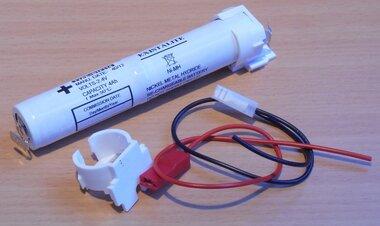 EXISTALITE BTF114 2 cell 4Ah NiMH batterij accu 2.4V