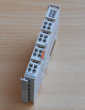 Beckhoff EL9187 potential distribution terminal 8x 0V 10A