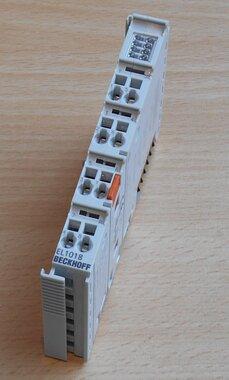 Beckhoff EL1018 8x digitale input module 24V DC filtertime 10 us
