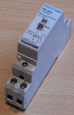 Hager ES220A Magneetschakelaar 230V 2NO 20A 2399987