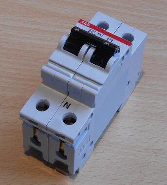 ABB S271 K2A installatieautomaat 1P+Nul 2A