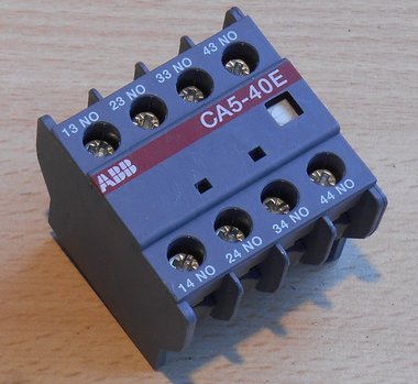 ABB CA5-40E hulpcontact contactblok 4NO 16A