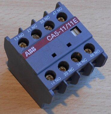 ABB CA5-11/11E hulpcontact contactblok 2NO 2NC 16A