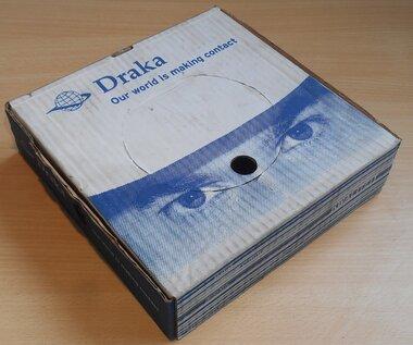 Draka VDS 1,5mm2 100896D3 Installatiedraad bruin 100m