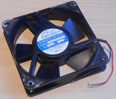 Toyo fan TFDDI20 ventilator 24V DC 0.27A