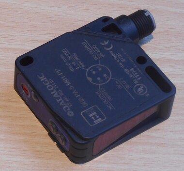 Datalogic S62-PA-5-M01-PP Photoelectric Sensor datasensor