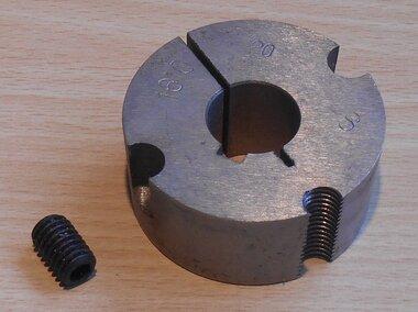 Klembus 1610-20 taperlock 1610 met asmaat 20 mm