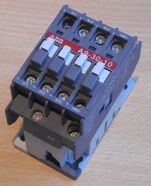 ABB A9-30-10 Magneetschakelaar 26A 3P 220-230V 50Hz 230-240V 60Hz 1NO