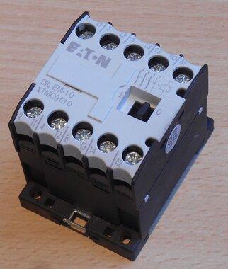 EATON DILEM-10 Magneetschakelaar 20A 230v 50Hz 240v 60Hz 3P 1NO