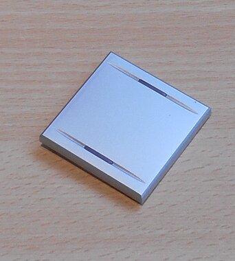 BTICINO HC4911/2 verlichtbare toets voor axolute op/neer lichtgrijs