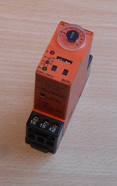 Syrelec BCR VDE 0435 Timer relais 220V 0.1s-10h