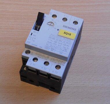Siemens 3VU1300-2MJ00 motorstarter protector 2,4-4,0A 2NO
