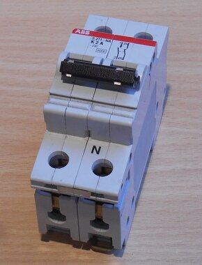 ABB S 271 NA K 2 A Installatieautomaat 2P