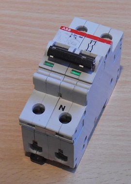 ABB S 281 NA K 2 A Installatieautomaat 2P