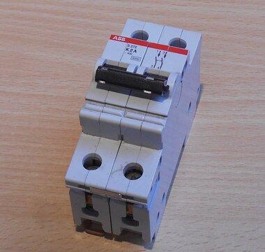 ABB S 272 K 2 A Installatieautomaat 2P