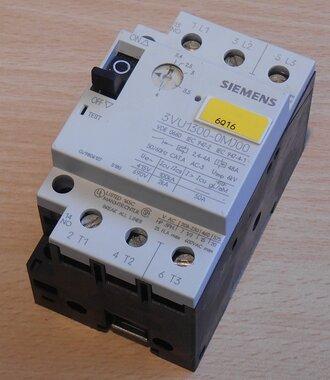 Siemens 3VU1300-0MJ00 motorstarter protector 2,4-4,0A 1NO
