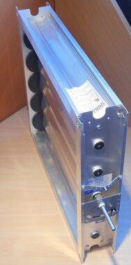 Trox JZ-G 625x525 mm Registerklep ventilatierooster regelklep