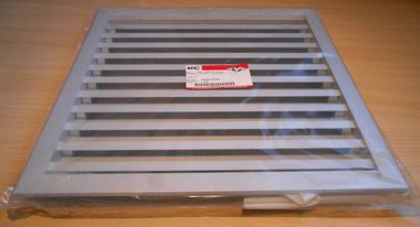 ATC BLR-1 400x400 mm aluminium buitenluchtrooster A070201400400 rooster
