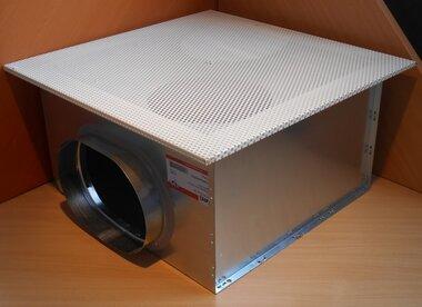 ATC PS/PPTZI 250 geperforeerd rooster incl. geïsoleerd plenumbox A040366600250