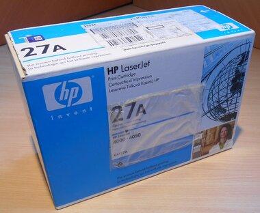 HP 27A (C4127A) toner zwart standaard capaciteit (origineel)
