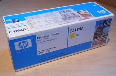 HP 640A (C4194A) toner geel (origineel)