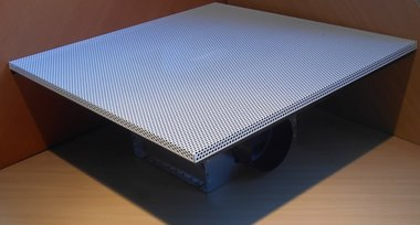 Air Traxx DC560SG systeemplafond toevoer en afzuig rooster size 125