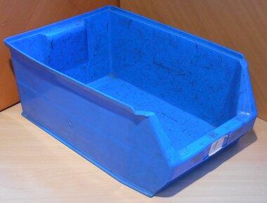 MH2-Box Kunststof stapelbak magazijnbak 500X300X200 mm, blauw