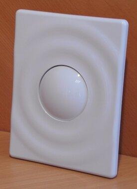 Grohedal bedieningspaneel toilet surf alphine wit 37063SH0